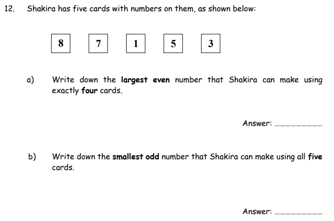 Even and Odd Number