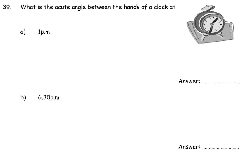 Time Angle
