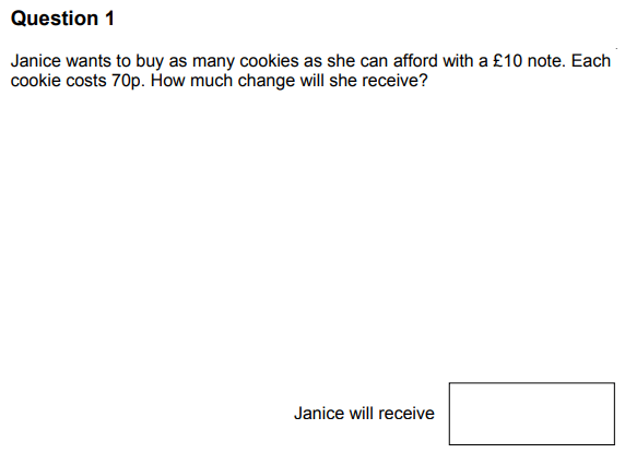Currency Conversions, Division, Money