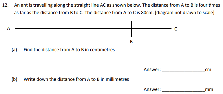 Algebra Dependent Problems, Linear Equations and Unit Conversions