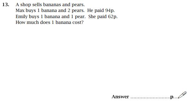 Simultaneous Equations, money