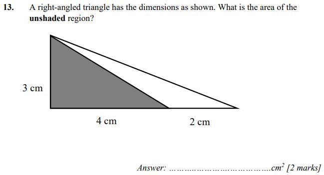 Triangle and Area