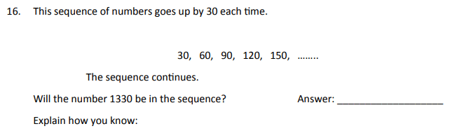 Multiples and Sequence