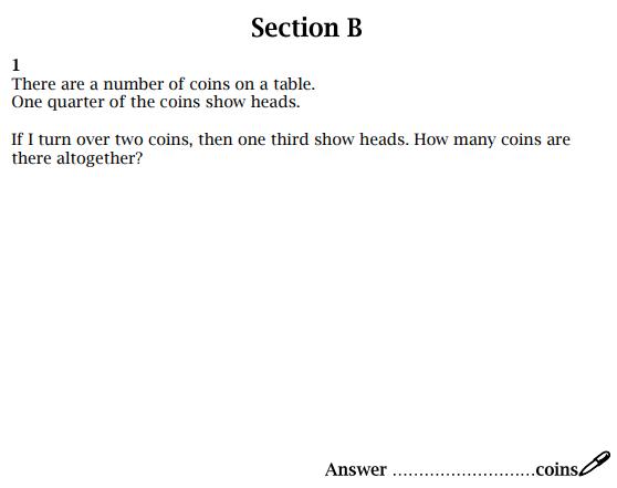 Algebra, Fractions