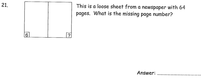 Logical Questions and Subtraction
