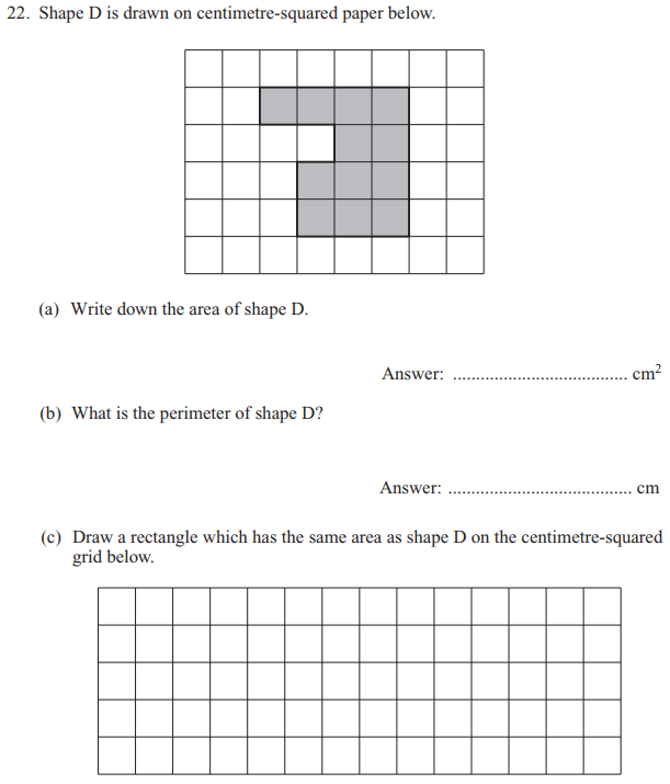 Compound shape, Area and perimeter, Rectangle and Scale drawings