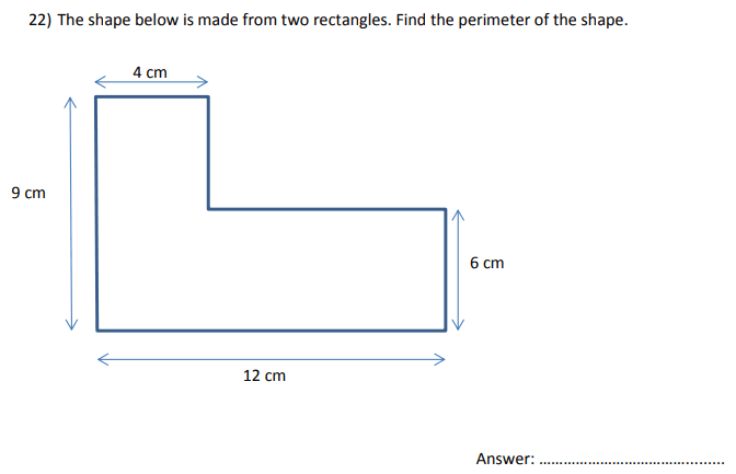 Rectangle and Perimeter