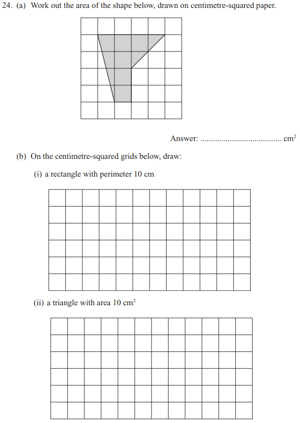Area and perimeter, Compound shapes and Scale drawing