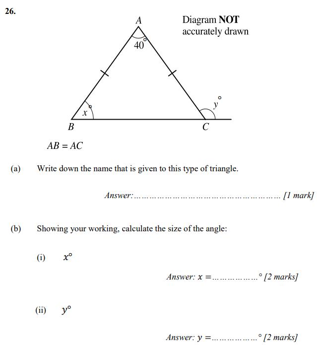 Triangle and Angle
