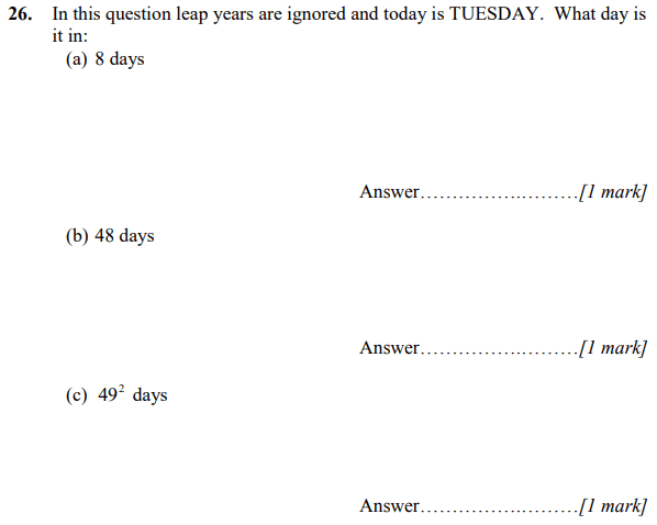 Date and Multiples