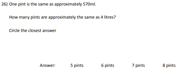 Ratio & Proportion and Unit Conversions