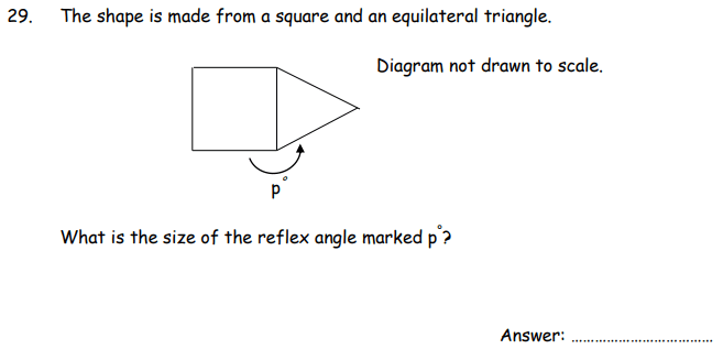 Triangle, Square and Angle