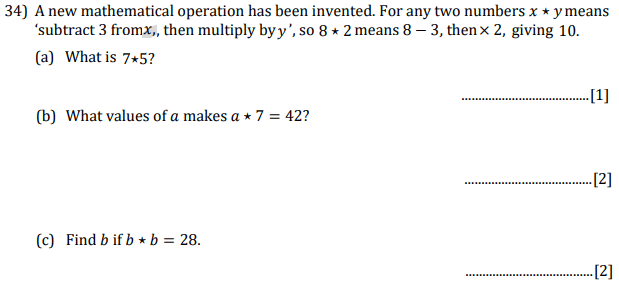 Subtraction, Multiplication, Quadratic equations and Linear Equations