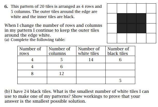 Rectangle, Logic and Algebra