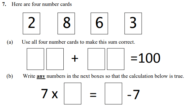 Addition, Subtraction and Multiplication