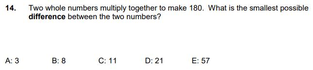 Subtraction, Factors, Numbers
