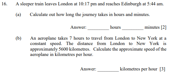 Time, Speed time distance and Word Problems