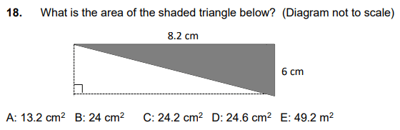 Geometry, Area and Perimeter, Rectangle, Triangles
