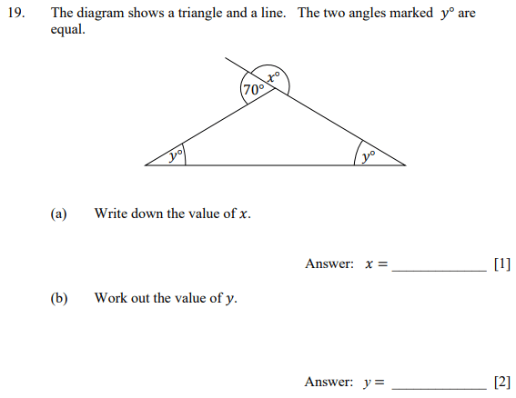 Triangle and Angles