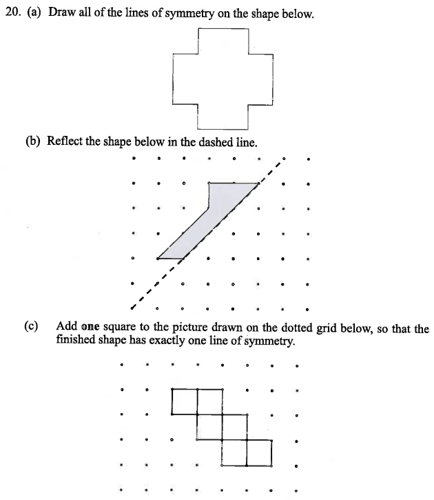 Linear Equations, Reflection, Geometry