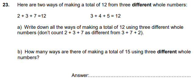 Logical Problems, Permutation and Combinations