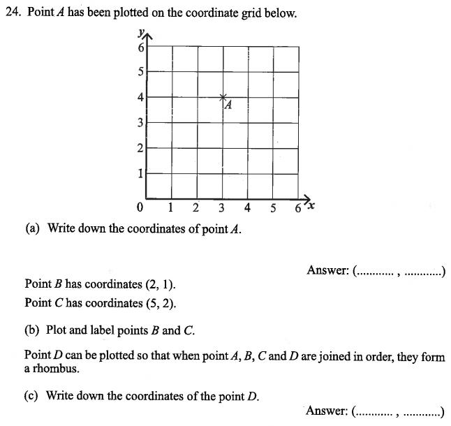 Geometry, Coordinates, Polygons, Measurement