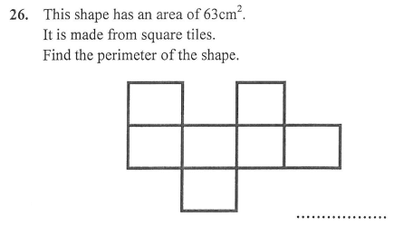 Compound Shapes,Area and Perimeter and Square