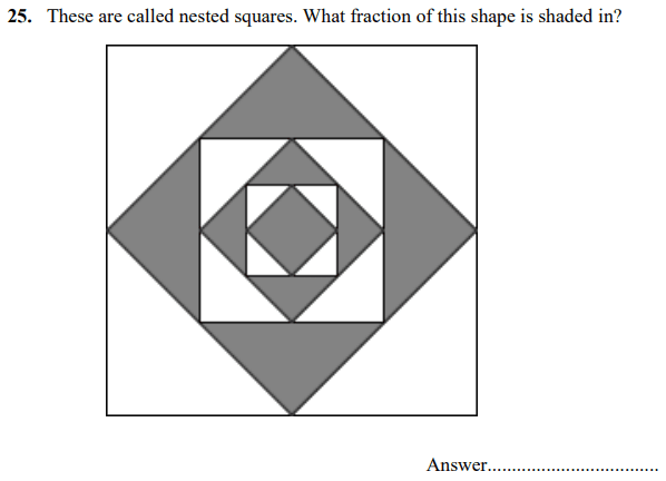 Fraction, Square and 2D shapes