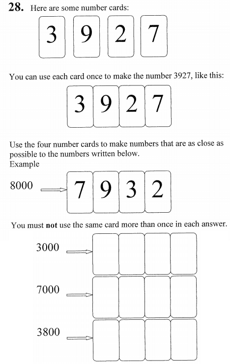 Place value and Order and Compare Numbers