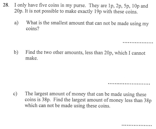 Addition and money
