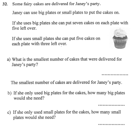 Logical Problems, multiples and Word Problems