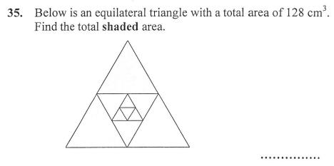 Triangle and Area and Perimeter