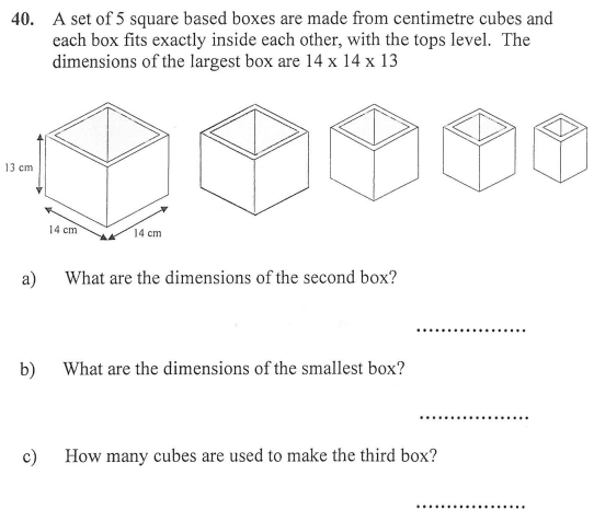 cubes and 3D shapes