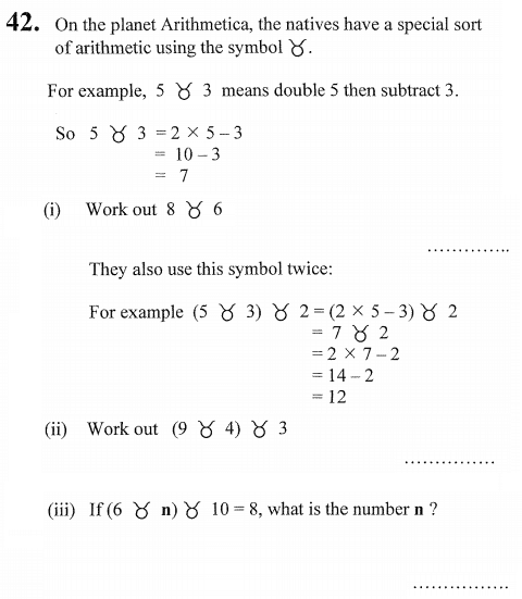 substitution and Linear Equations