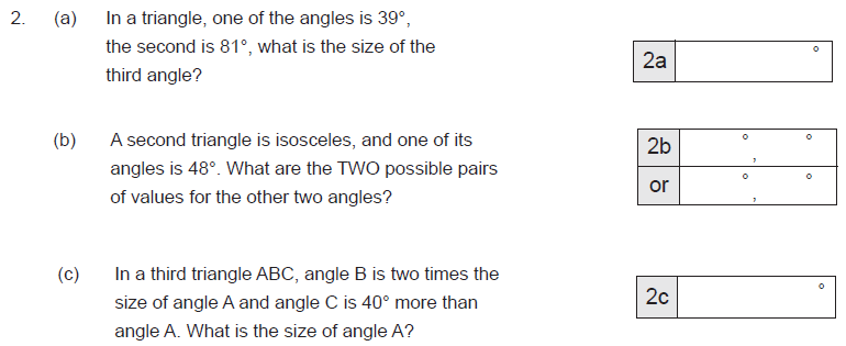 Angles and Triangle