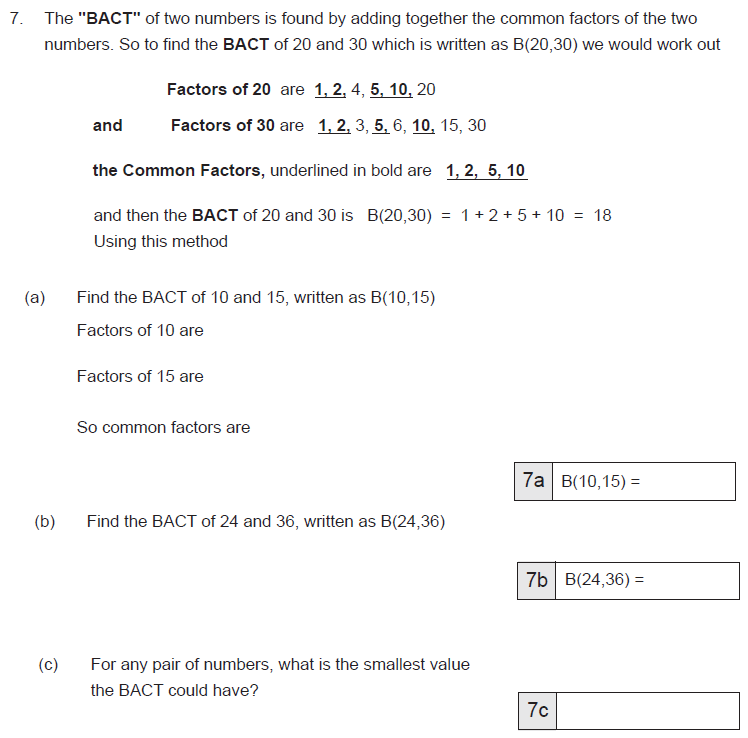 Factors and Addition