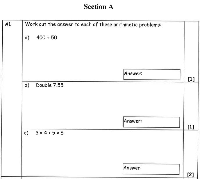 Division, Multiplication and BIDMAS