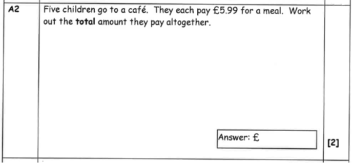 Word Problems, Decimals and Multiplication