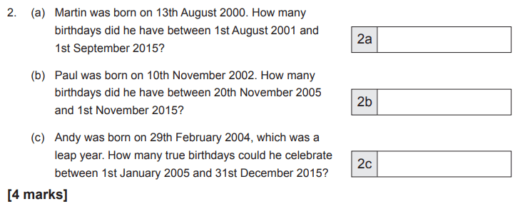 Age Problems, Word problems, Numbers