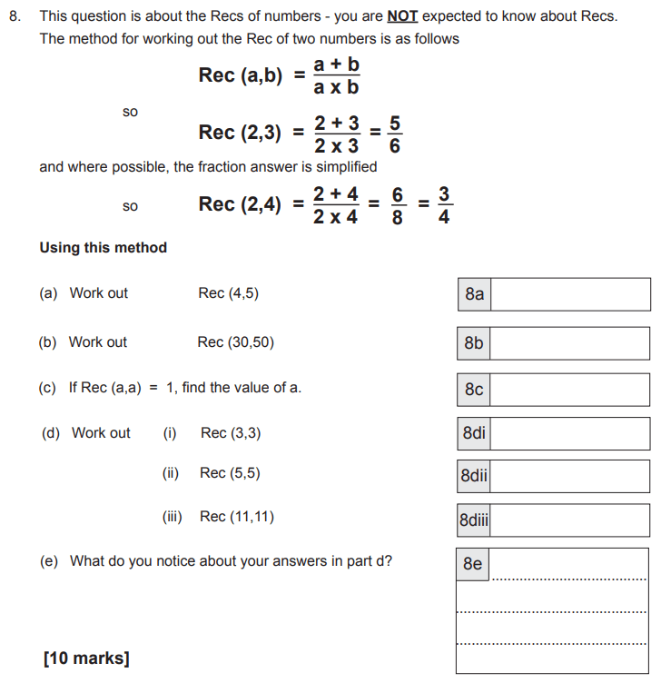 Substitution, Algebra, Numbers, Fractions