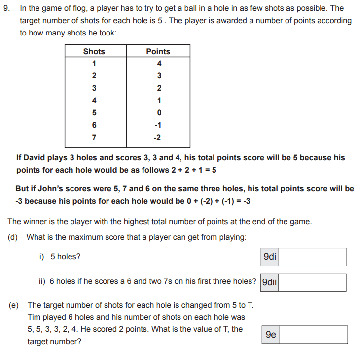 Word Problems, Logical Problems and Algebra