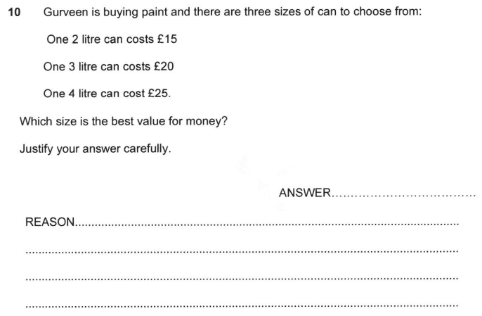 Money, Logical Problems, Word Problems, Division, Order and Compare Numbers and Decimals