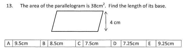 Area and Perimeter and Polygon