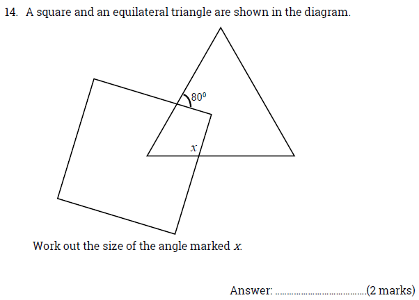 Square, Triangles, Polygons and Angles