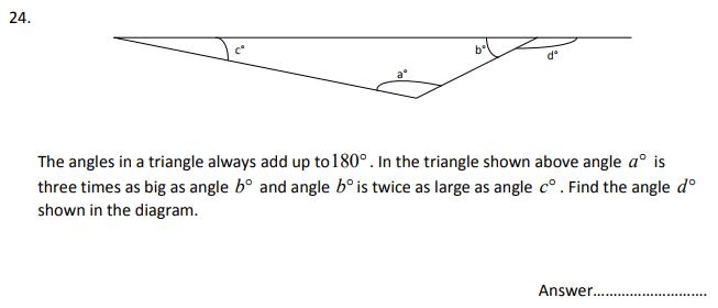Algebra, Algebra Dependent Problems, Geometry, Angles, Triangle