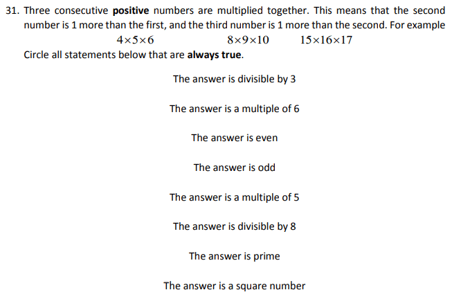 Numbers, Division, Multiplication, Word Problems, Prime Numbers, Even Numbers, Multiples