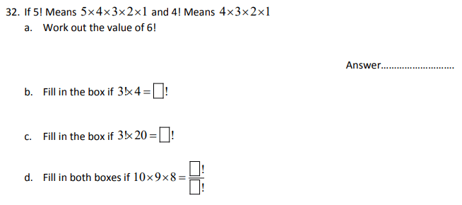 Logical Problems, Numbers, Division, Multiplication, Factors