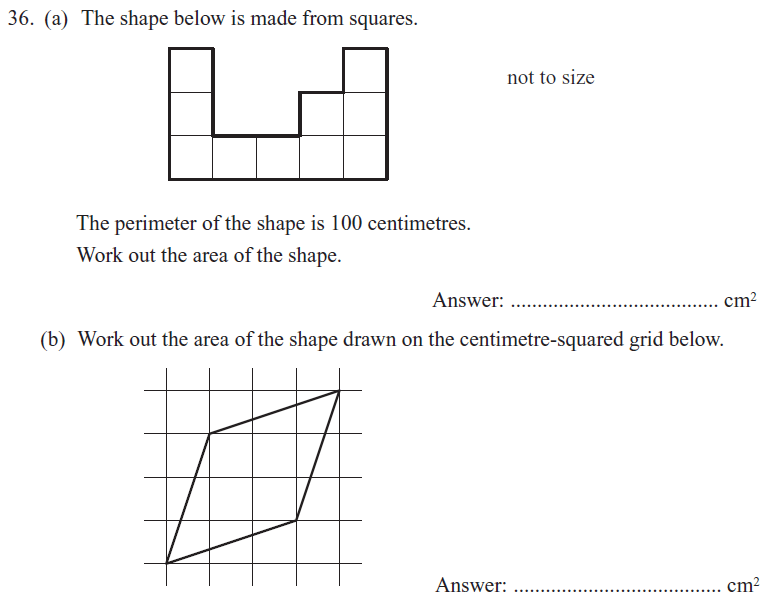 2D Shapes Questions Collected From 11+ papers