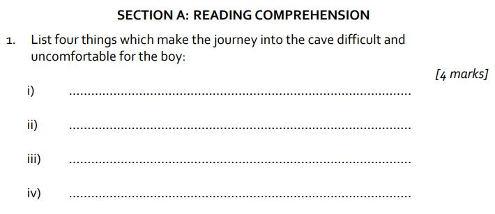 11 plus St Albans School 11 Plus English Paper 2014 Question 01