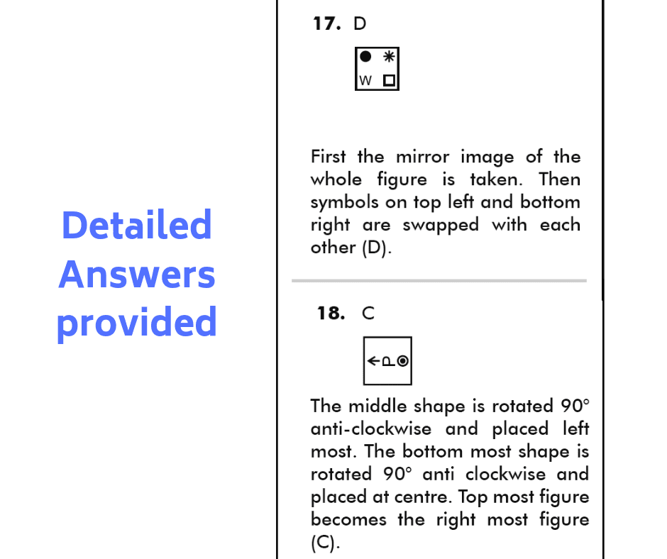 11+ NVR papers with answers